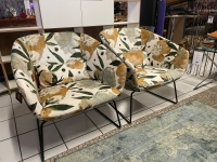 Nr. 72 I Angebot SALE % / 2 Sessel / Stoff / Ausstellungsware sofort verfügbar